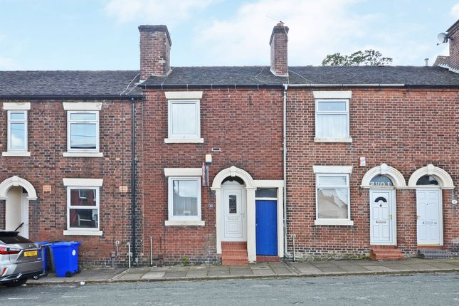 Thumbnail Terraced house to rent in Bourne Street, Stoke On Trent, Staffordshire