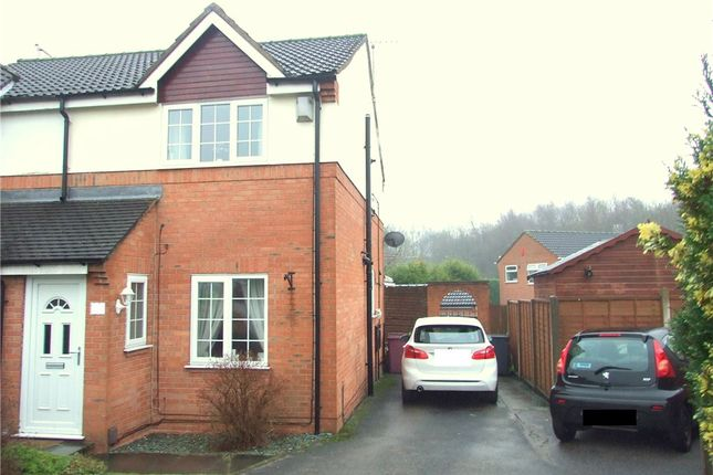 Thumbnail Semi-detached house for sale in Maple Drive, Broadmeadows, South Normanton, Alfreton