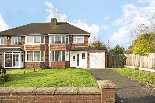 Thumbnail Property to rent in Rushall Manor Road, Walsall