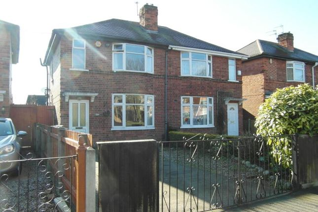 Thumbnail Semi-detached house to rent in 77 Basford Road, Basford, Nottingham
