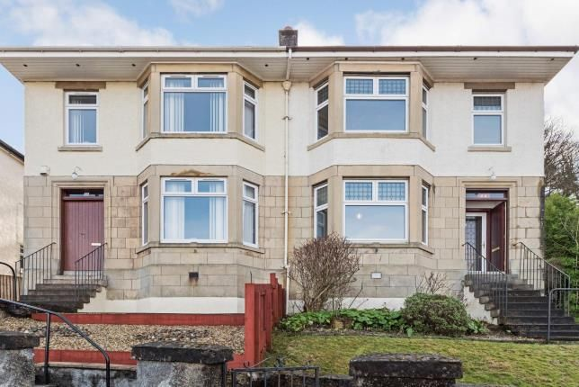 Thumbnail Semi-detached house for sale in Caledonia Crescent, Gourock, Inverclyde