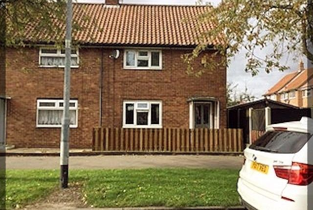 Thumbnail Semi-detached house to rent in Shannon Road, Longhill, Hull, East Yorkshire
