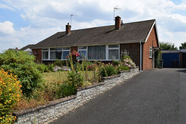 Thumbnail Semi-detached bungalow for sale in Apley Drive, Wellington, Telford, Shropshire