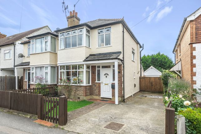 Thumbnail Semi-detached house for sale in Lumley Road, Horley, Surrey