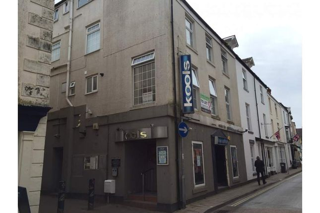 Thumbnail Restaurant/cafe for sale in 13-14 Northumberland Place, Teignmouth