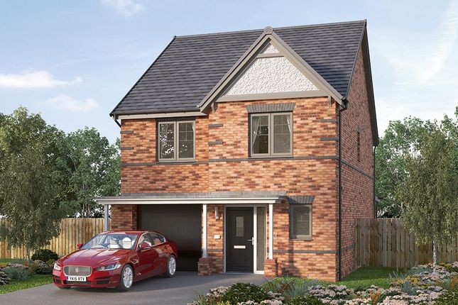 "Thumbnail Detached house for sale in ""The Holbury"" at Cranleigh Road, Woodthorpe, Mastin Moor, Chesterfield"
