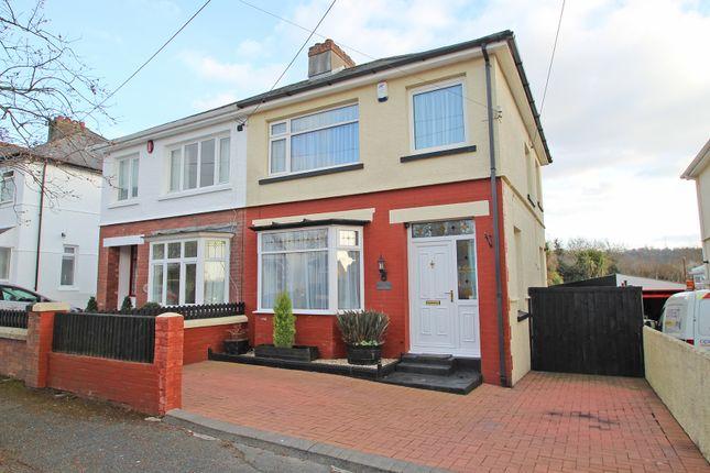 Thumbnail Semi-detached house for sale in Trelawny Road, Plympton, Plymouth, Devon