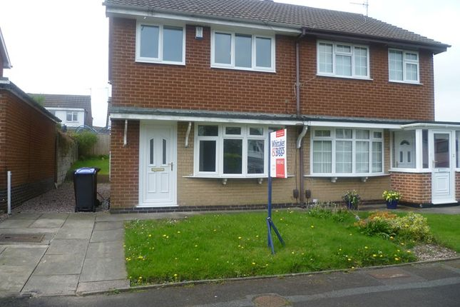 Thumbnail Semi-detached house to rent in Gilbern Drive, Knypersley, Staffordshire