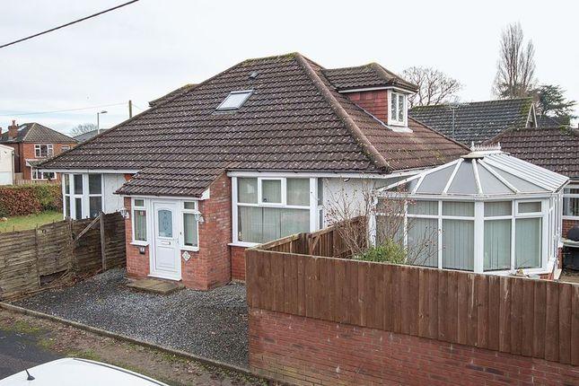 Thumbnail Detached bungalow for sale in Oakmount Avenue, Totton, Southampton