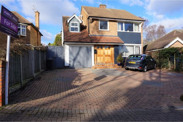 Thumbnail Detached house for sale in Thoresby Road, Bramcote