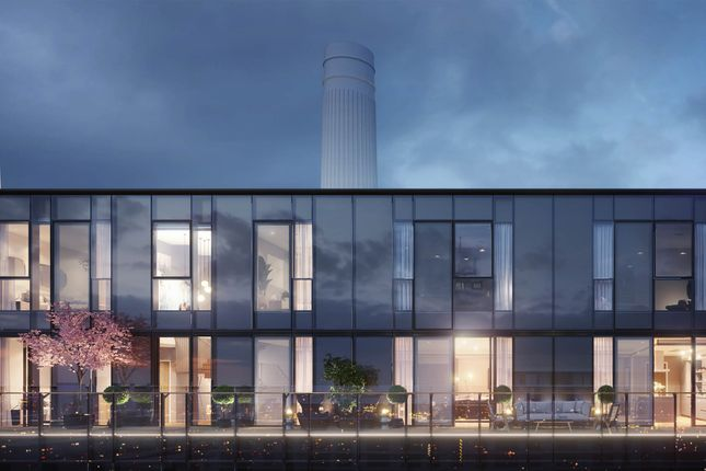 Thumbnail Flat for sale in Battersea Power Station, Nine Elms, London