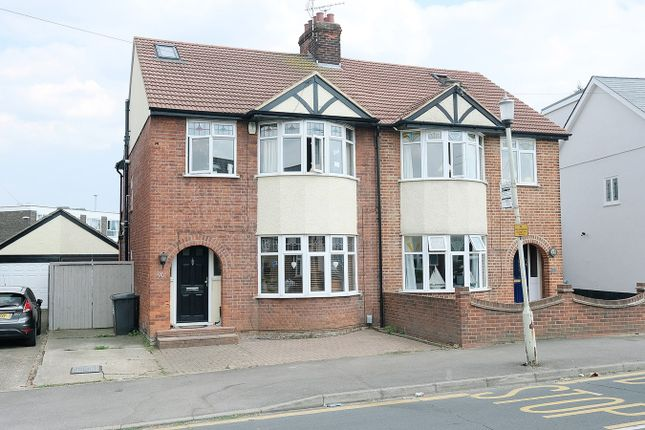 Thumbnail Semi-detached house for sale in Lynmouth Avenue, Old Moulsham, Chelmsford
