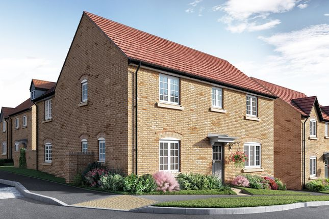 "Thumbnail Detached house for sale in ""The Kempthorne"" at Isemill Road, Burton Latimer, Kettering"