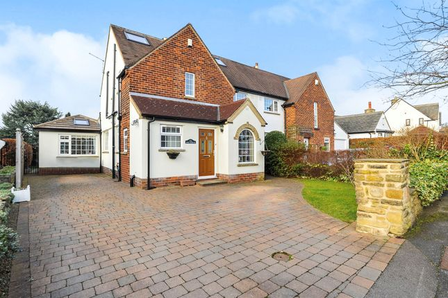 Thumbnail Semi-detached house for sale in Southway, Horsforth, Leeds