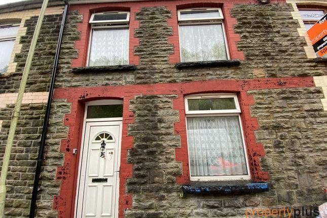 Terraced house for sale in Fountain Street Pontypridd -, Pontypridd