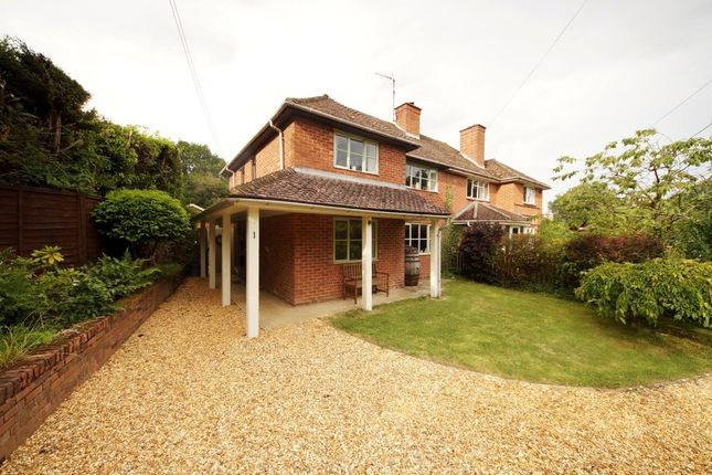 Thumbnail Semi-detached house for sale in St. Stephens Close, Up Nately, Hook