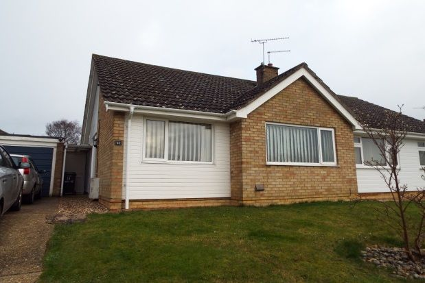 Thumbnail Bungalow to rent in Hoxne Close, Stowmarket