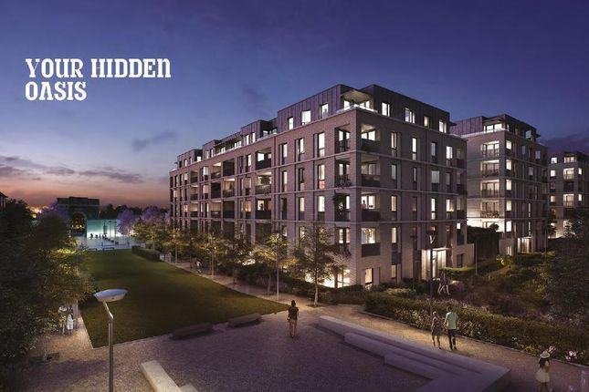 Thumbnail 2 bed flat for sale in Conolly House, St Bernards Gate, Uxbridge Road, Hanwell, London