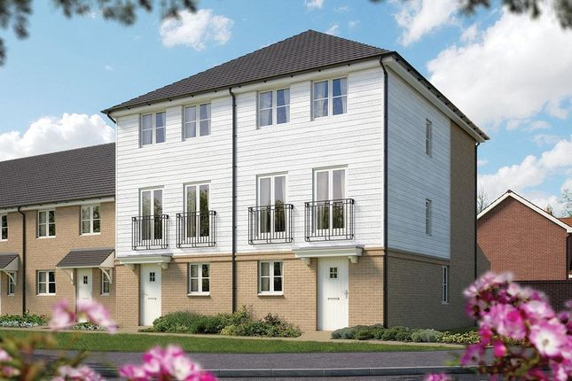 Thumbnail Semi-detached house for sale in Orchard Fields, Hermitage Lane, Maidstone