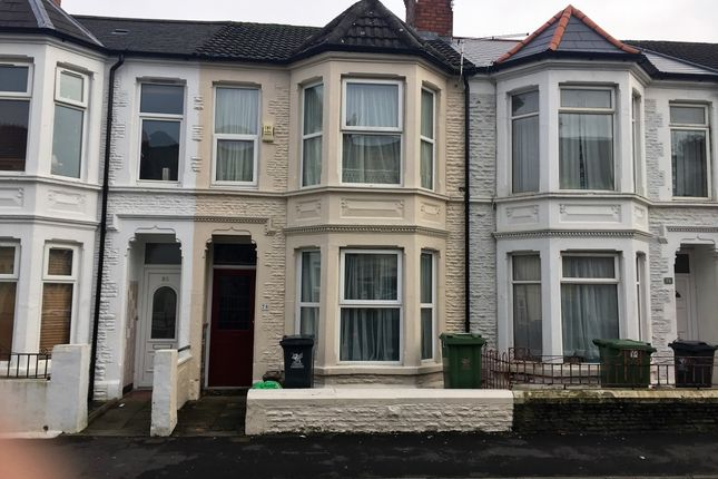 3 bed terraced house for sale in Malefant Street, Cardiff, Cardiff