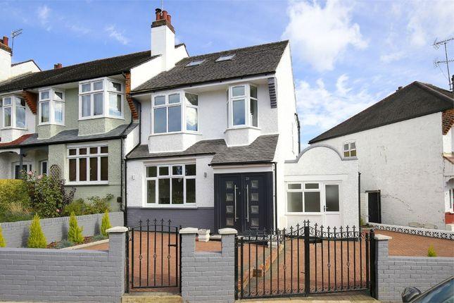 Thumbnail End terrace house for sale in Crescent Rise, Alexandra Park, London