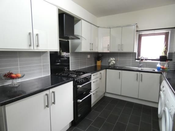 Kitchen of Premier Street, Old Trafford, Manchester, Greater Manchester M16