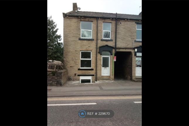 Thumbnail End terrace house to rent in Halifax Road, Bradford