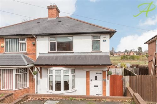 Thumbnail Semi-detached house to rent in Edgware Road, Erdington, Birmingham