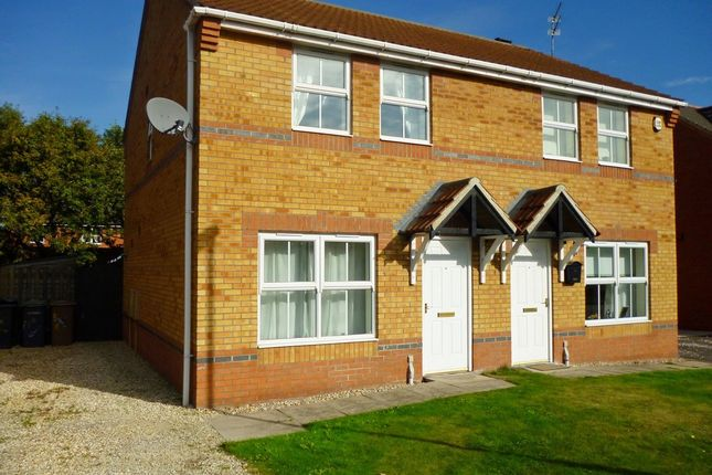 Semi-detached house to rent in Fox Covert, South Hykeham, Lincoln