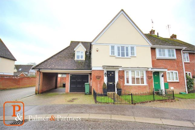 Thumbnail End terrace house for sale in St. James Road, Braintree