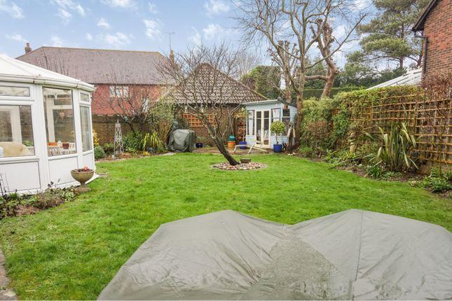 Rear Garden of Oak Tree Farm, Hambrook, Chichester PO18