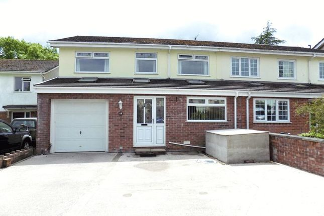 Thumbnail Semi-detached house for sale in Garth Close, Rudry, Caerphilly