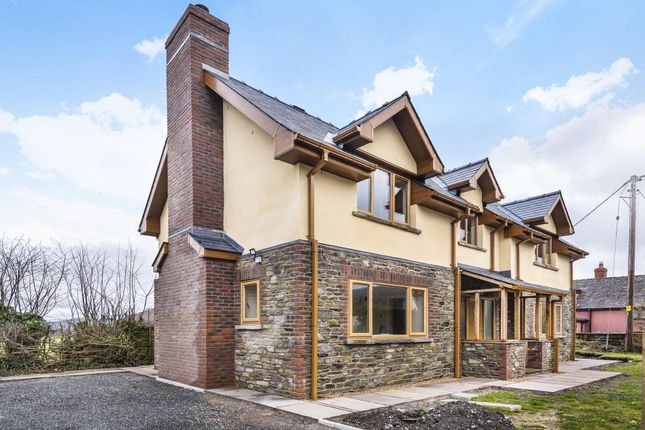 Thumbnail Detached house for sale in Walton Near Presteigne, Powys