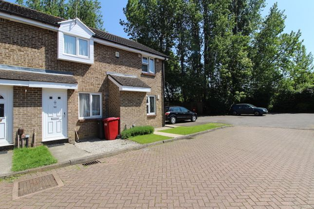 Thumbnail Terraced house to rent in Frogmore Close, Cippenham, Slough