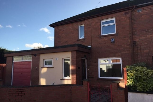Thumbnail Semi-detached house to rent in Chesham Gardens, Ravenhill, Belfast