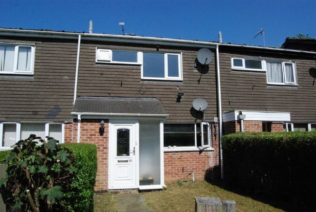 Thumbnail Terraced house to rent in Waveney Close, Daventry, Northants