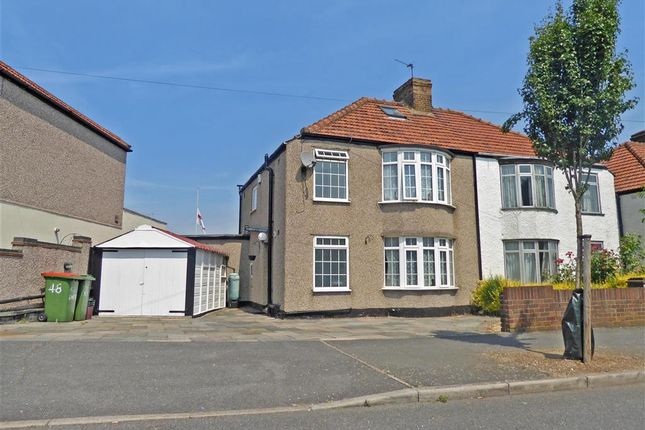 Thumbnail Semi-detached house for sale in Exeter Road, Welling, Kent