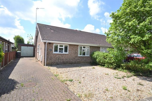 Thumbnail Semi-detached bungalow for sale in Burghley Road, South Wootton, King's Lynn
