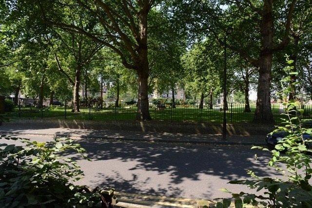 Front Park of Deans Buildings, London SE17