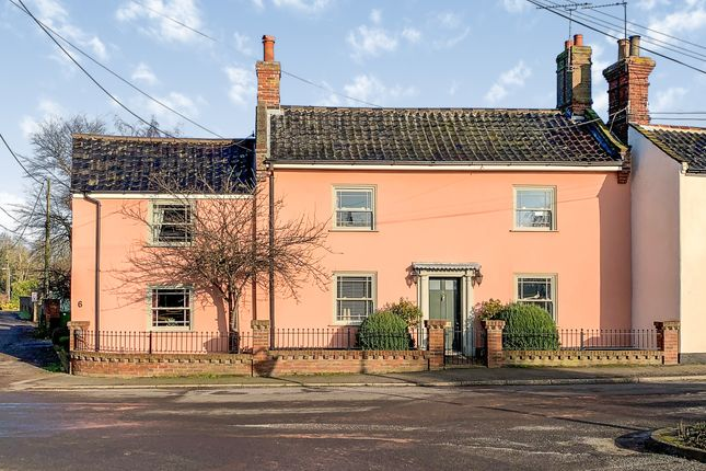 Thumbnail Link-detached house for sale in Station Road, Earsham, Bungay