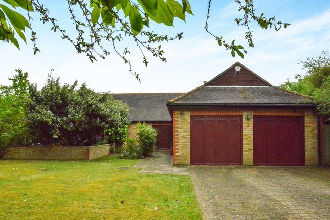 Thumbnail Detached bungalow for sale in Linford Lane, Willen, Milton Keynes