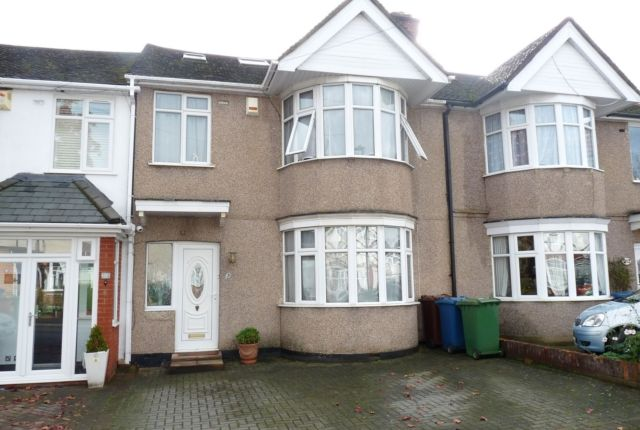 Thumbnail Terraced house for sale in Brampton Grove, Kenton