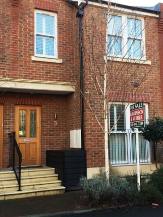 Thumbnail Terraced house for sale in Walton Road, East Molesey