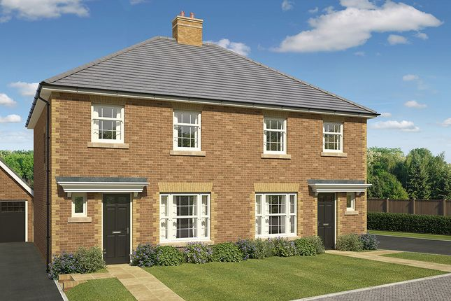 """Thumbnail 3 bed semi-detached house for sale in """"Hanover"""" at James Whatman Way, Maidstone"""