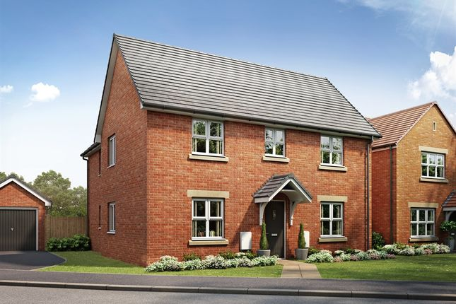 "Thumbnail Detached house for sale in ""The Oundle "" at Brickburn Close, Hampton Centre, Peterborough"