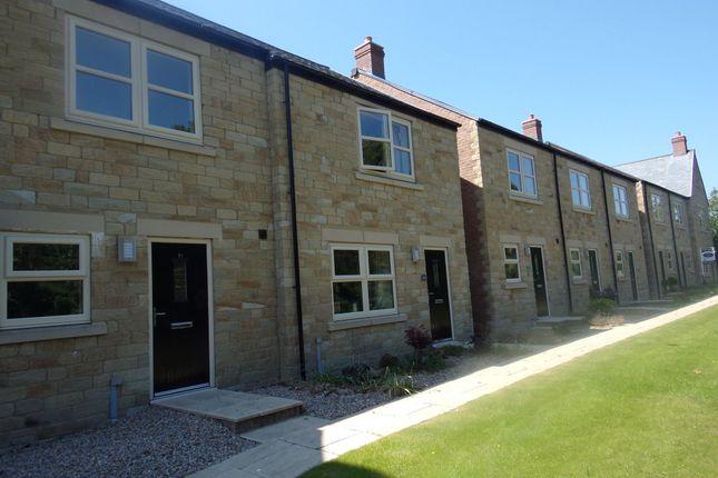 Thumbnail Terraced house to rent in Sea View, Longframlington, Morpeth