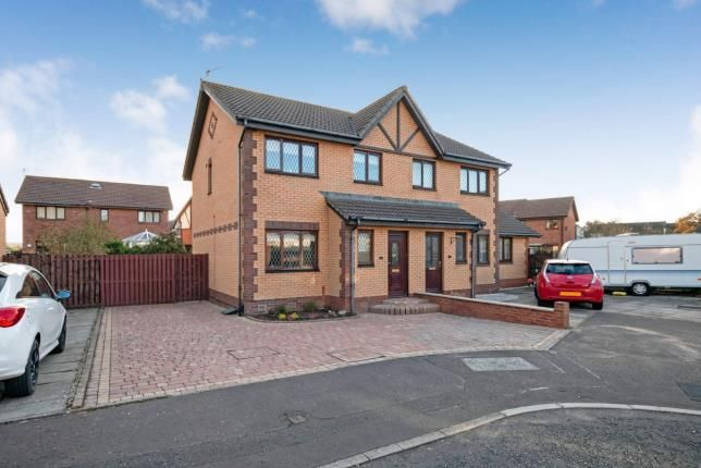 Thumbnail Semi-detached house for sale in Kenmore Place, Troon, South Ayrshire, Scotland