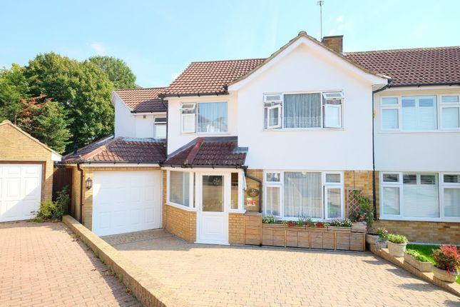 Thumbnail Semi-detached house for sale in Wentworth Close, Farnborough, Orpington