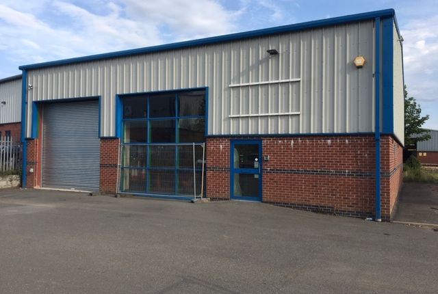 Thumbnail Warehouse to let in Martins Court, Telford Way, Coalville