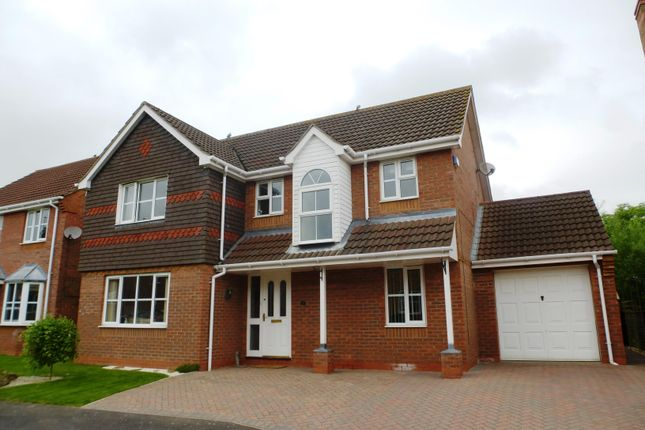 Thumbnail Detached house to rent in Manor Close, Cranwell Village, Sleaford